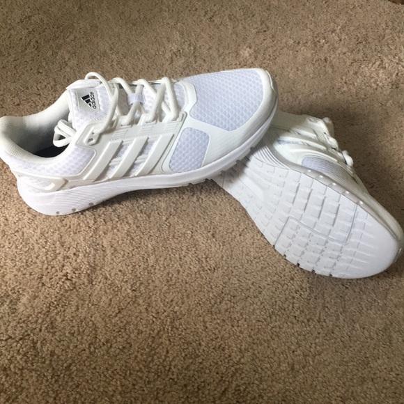 le adidas mens bianco cloudfoam ortholite scarpe poshmark